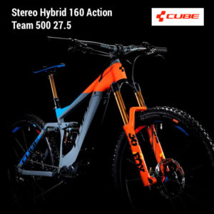 Cube Action Team Fullsuspension Hybrid ebike