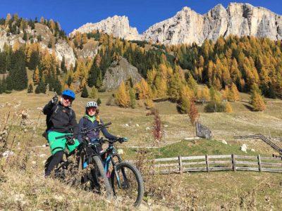 Sellaronda - Mountain bike - Burning dolomties